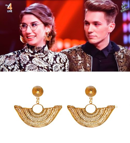 The Voice of Holland Abanico earrings