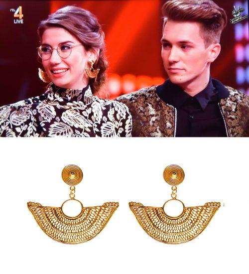 The Voice of Holland Abanico earrings