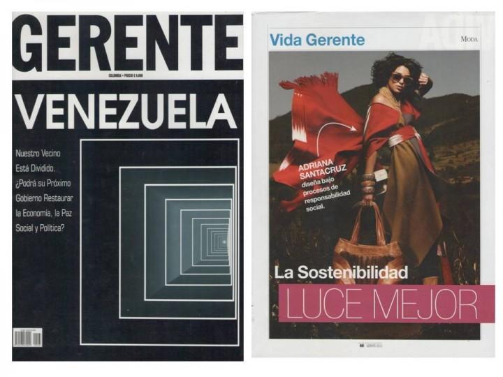 Adriana Santacruz Gerente Venezuela