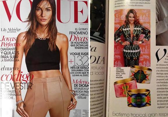 Flor Amazona Vogue