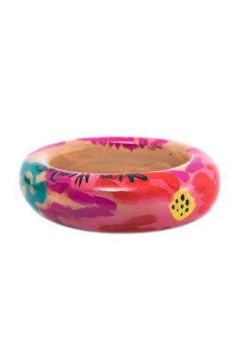 Alfonso Mendoca Rivera Floral bangle handgemaakte statement sieraden
