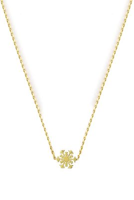 Flor Amazona Snowflake ketting 24 karaat verguld luxury bijoux musthave