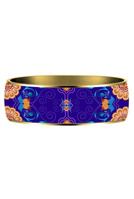 matrioshka blue bangle Flor Amazona styleandstories
