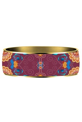 matrioshka burgundy bangle Flor Amazona styleandstories