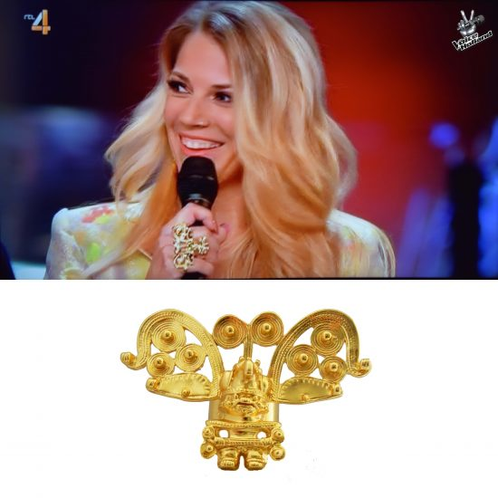 Cacique Ring in The Voice of Holland