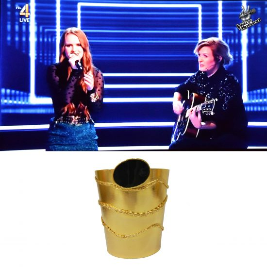The Voice of Holland Athena cuff