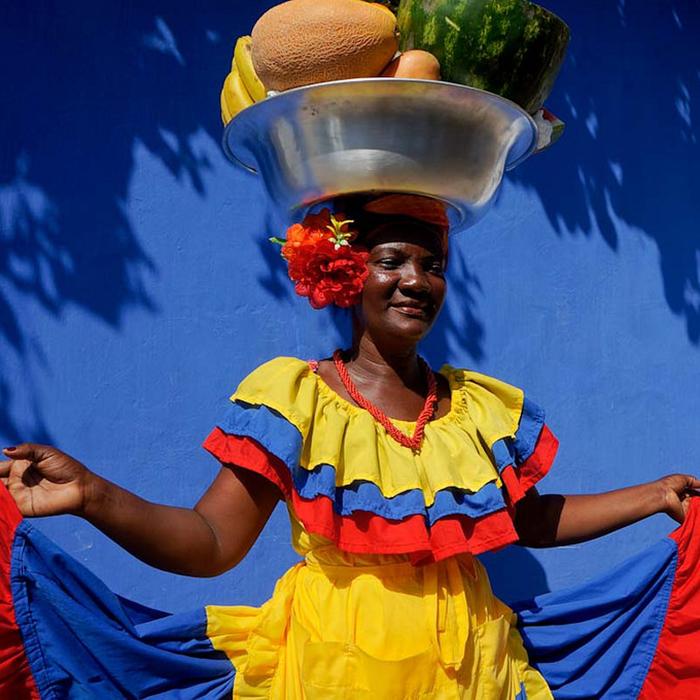 Palenquera women