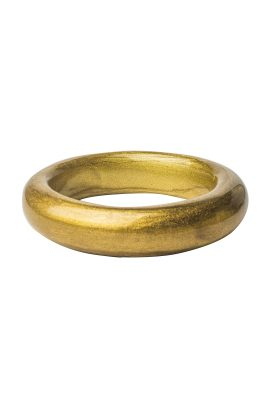 Alfonso Invierno de Zimara gold bangle handgemaakte statement sieraden