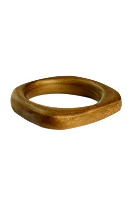 Alfonso Zinu Gold bangle handgemaakte statement sieraden