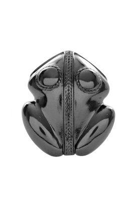 Flor Amazona El Dorado statement ring cobalt luxury bijoux voorkant