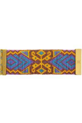 Flor Amazona glaskralen La Magica armband 24 karaat verguld luxury bijoux
