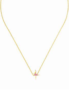 Flor Amazona Ballerina ketting 24 karaat verguld luxury bijoux musthave