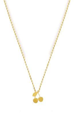 Flor Amazona Cherry ketting 24 karaat verguld luxury bijoux musthave