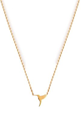 Flor Amazona Colibri ketting 24 karaat verguld luxury bijoux musthave