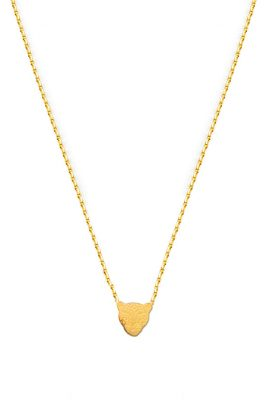 Flor Amazona Jaguar ketting 24 karaat verguld luxury bijoux musthave