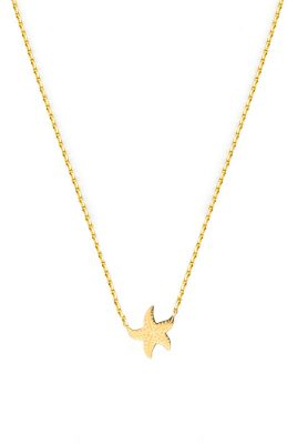 Flor Amazona Starfish ketting 24 karaat verguld luxury bijoux musthave