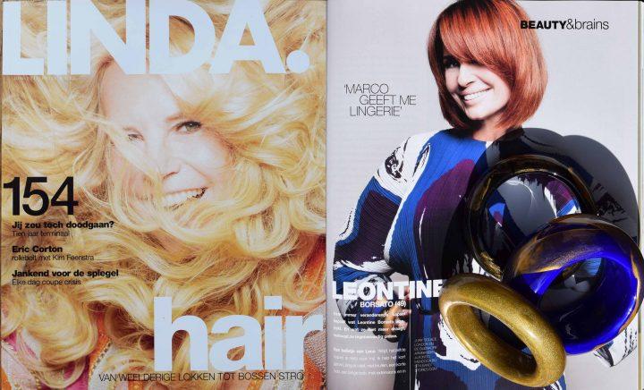 Linda Magazine – Leontine Borsato – Alfonso Mendoca