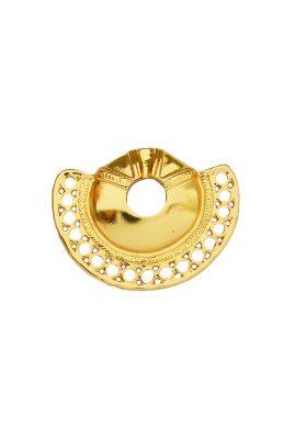 Flor Amazona Calamari statement ring 24 karaat verguld luxury bijoux musthave