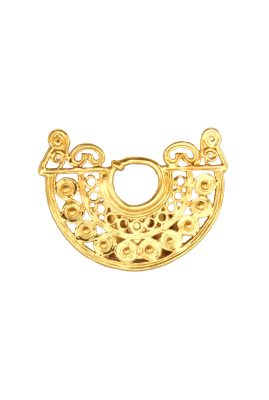 Flor Amazona Arrecife statement ring 24 karaat verguld luxury bijoux musthave