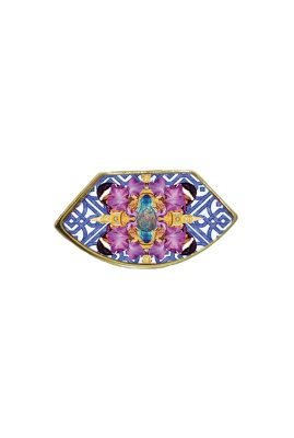 Flor Amazona Neptune Cartagena Tiles ring 24 karaat vergulde luxury bijoux