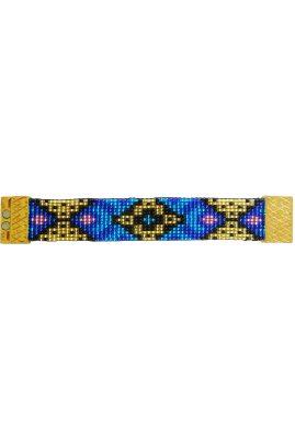 Flor Amazona glaskralen Mini Esplendida armband 24 karaat verguld luxury bijoux