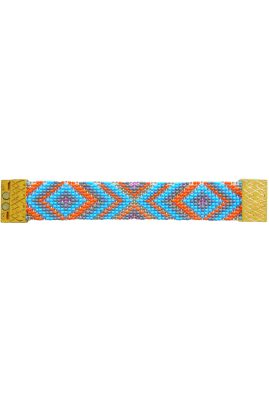 Flor Amazona glaskralen Mini Fabulosa armband 24 karaat verguld luxury bijoux