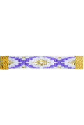 Flor Amazona glaskralen Mini El Dorado Fiji armband 24 karaat verguld luxury bijoux