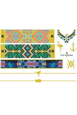 Flor Amazona Skin Jewels tijdelijke tattoos