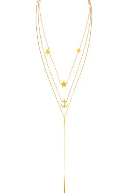 Flor Amazona Multianimals Sea ketting 24 karaat verguld luxury bijoux musthave
