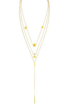 Flor Amazona Multianimals Sea ketting 24 karaat verguld luxury bijoux musthave