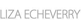 Logo Colombian jewelry designer Liza Echeverry