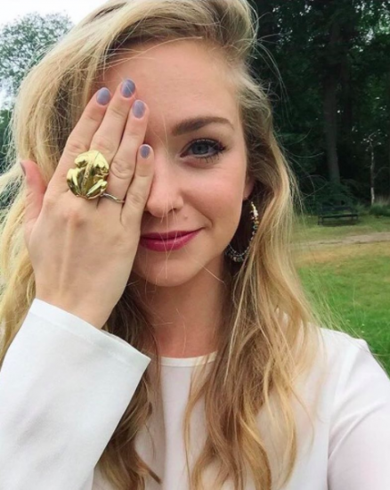 Pip Pellens with Flor Amazona's El Dorado ring